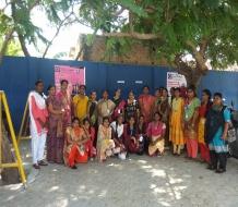 Women Empowerment-Self defense (Silambam)