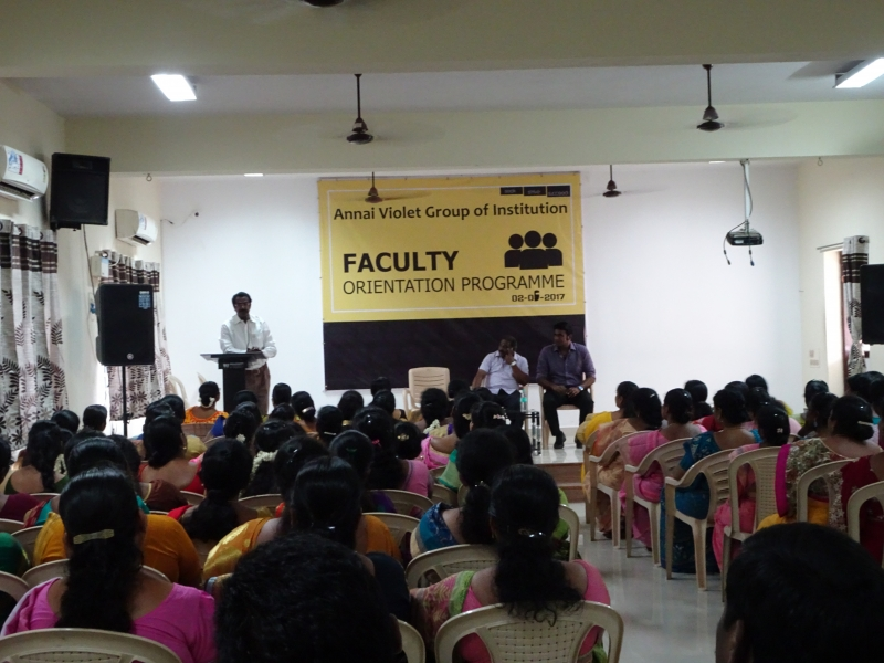 FACULTY ORIENTATION PROGRAMME